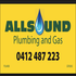 JOB WANTED: ALLSOUND PLUMBING AND GAS 0412487223